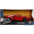 Fast e Furious. LYKAN HYPERSPORT Red F7 1/24