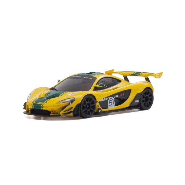 Kyosho MINI-Z RWD MCLAREN P1 GTR YELLOW/GREEN (W-MM/KT531P) K.32324YG