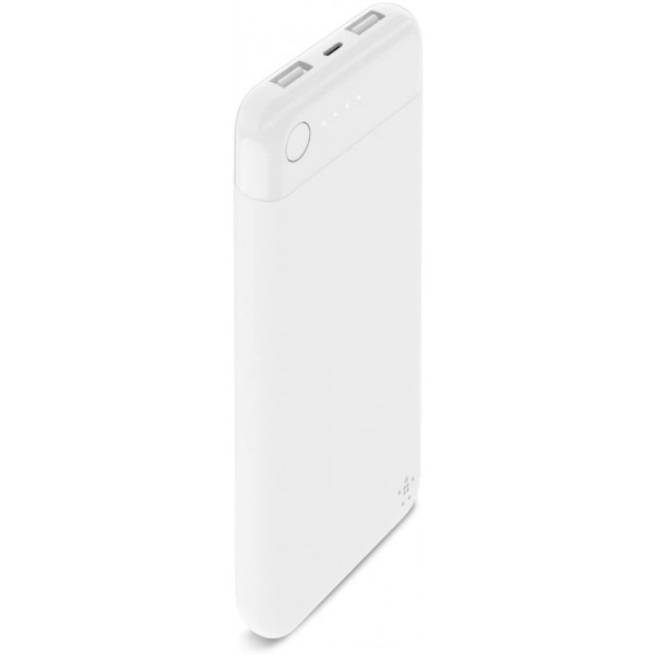 Powerbank Boost Up charge 5000 MAH con LIGHTNING + CAVO - Bianco