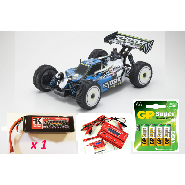 Kyosho Inferno MP9e EVO 1:8 RC Brushless EP Readyset Combo