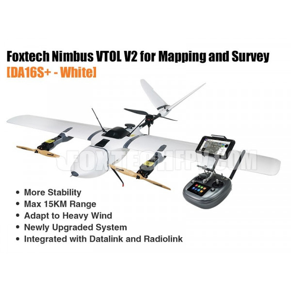Foxtech Nimbus VTOL V2 for Mapping and Survey