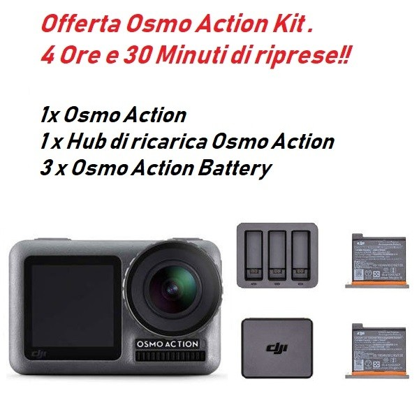 DJI Osmo Action Kit. Pronta Consegna.