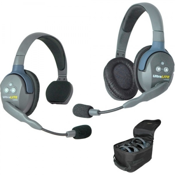 UltraLITE 2 PERSON SYSTEM (w/2 SINGLE HEADSETS, BATT/CHARG)