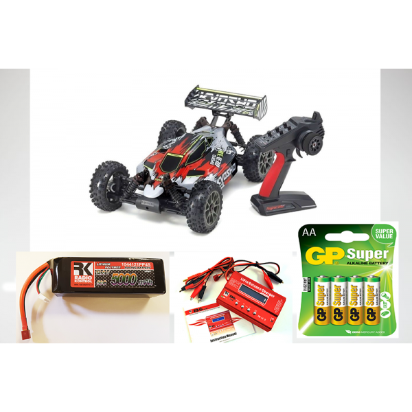 Kyosho Inferno Neo 3.0VE 1:8 RC Brushless EP T2 Rosso KIT COMBO
