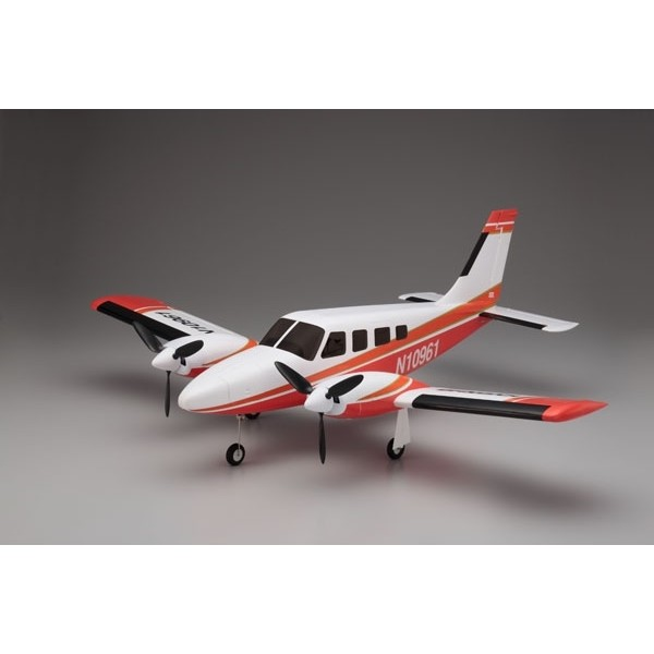 AIRIUM PIPER PA34 VE29 TWIN PIP SET - ROSSO