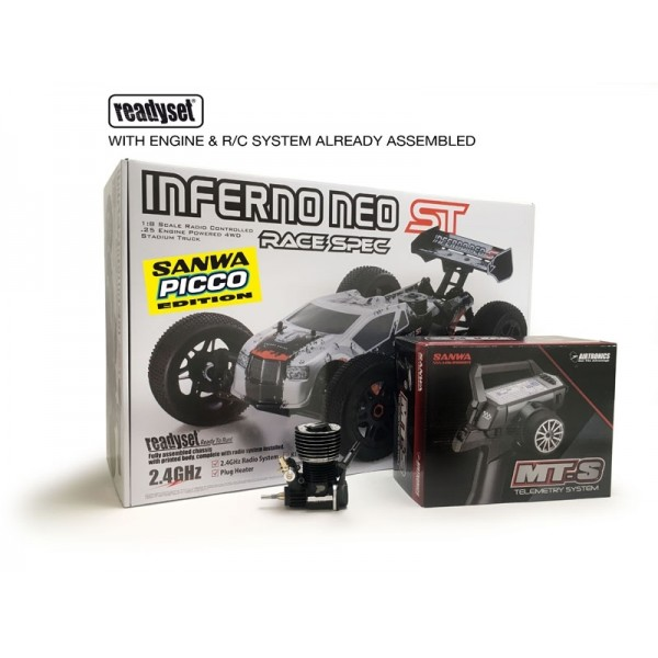 INFERNO NEO ST RACE 2.0 READYSET T1 c/PICCO 28 - SANWA MTS