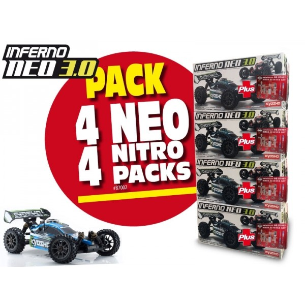 PACK INFERNO NEO 3.0 READYSET (KT231P-KE21SP)+ STARTER (#2018-073)