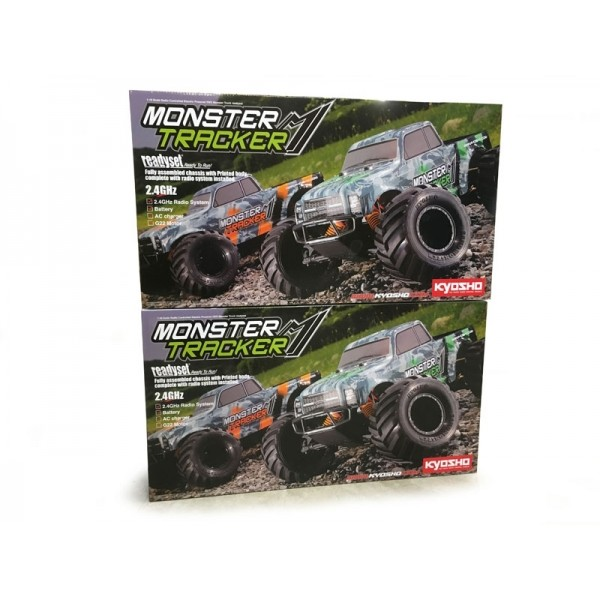 PACK EZ SERIES MONSTER TRACKER - 2 PCS (#2018-008)