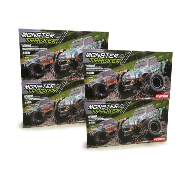 PACK EZ SERIES MONSTER TRACKER - 4 PCS (#2018-008)