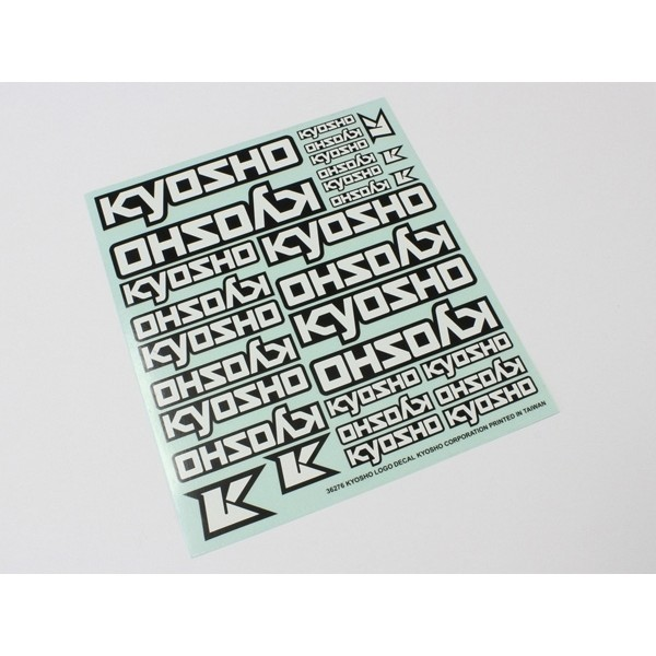 DECALS - KYOSHO LOGO (235x210mm)