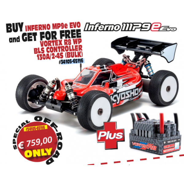 Kyosho INFERNO MP9e EVO Vortex