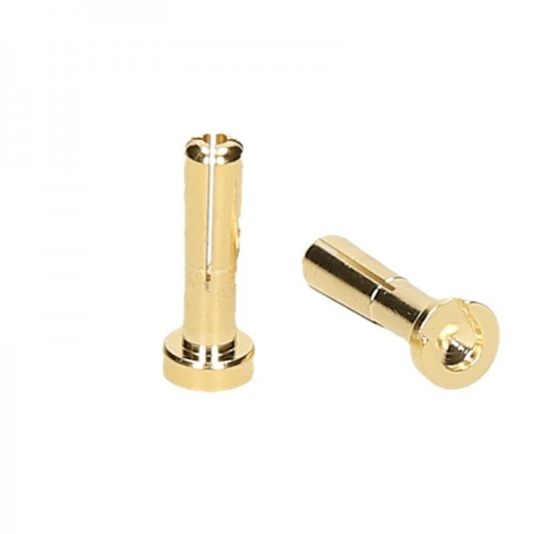 CONNETTORI 4MM GOLD MASCHIO (2) LOW PROFILE