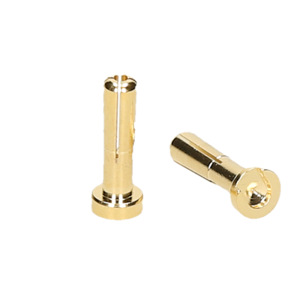 CONNETTORI 5MM GOLD MASCHIO (2) LOW PROFILE