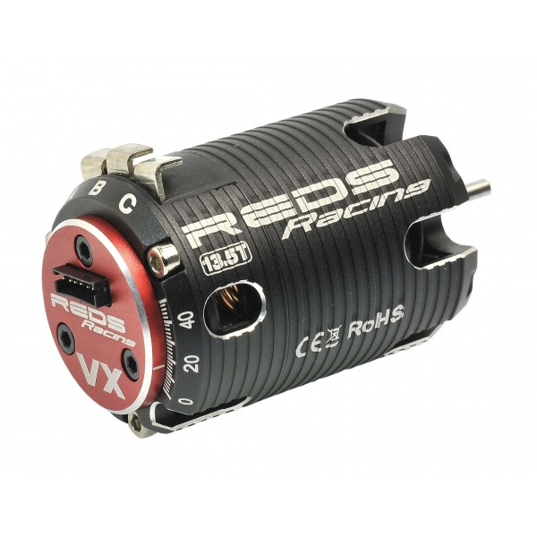 Brushless motor REDS VX 540 17.5T 2 poles sensored