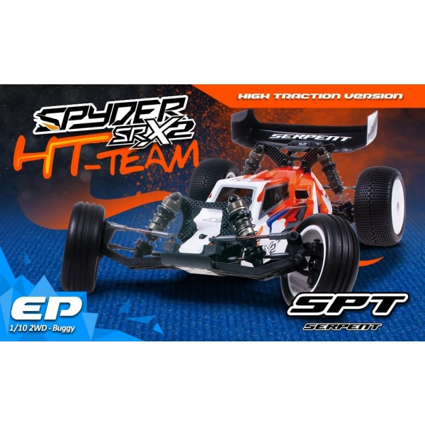 SERPENT BUGGY SPYDER HT TEAM 1/10 ELECTRIQUE 2WD