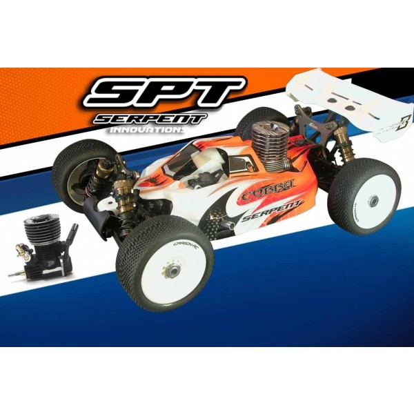 SERPENT BUGGY 1/8 811 COBRA  RTR WITH PICCO .28 ENGINE