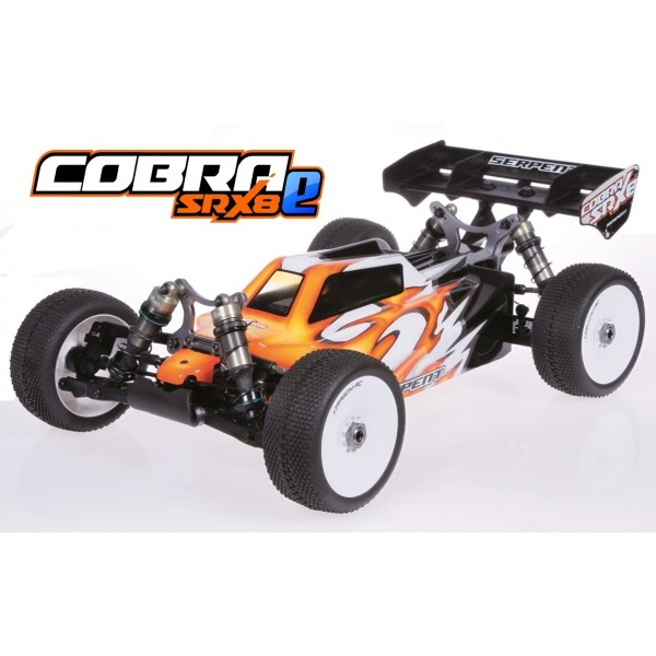 SERPENT COBRA SRX8 BUGGY EP 1/8 4WD