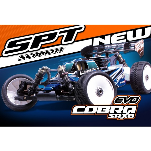SERPENT COBRA SRX8 BUGGY GP 1/8 4WD